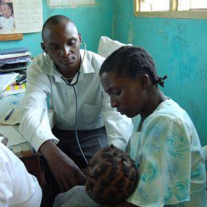 A consultation in Kenya