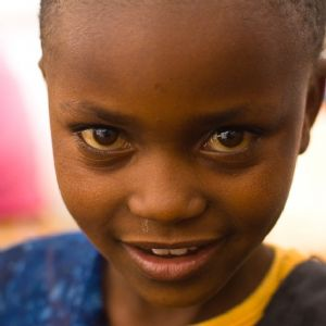 An African child