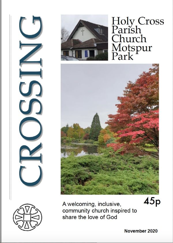 November Crossing cover