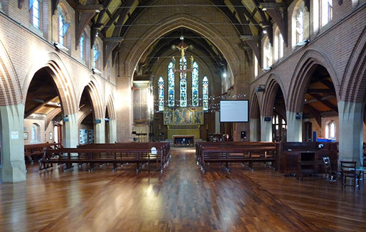 St Georges interior