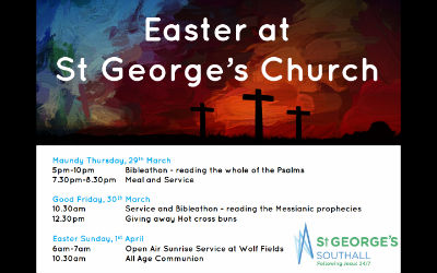 Check out our Easter plans