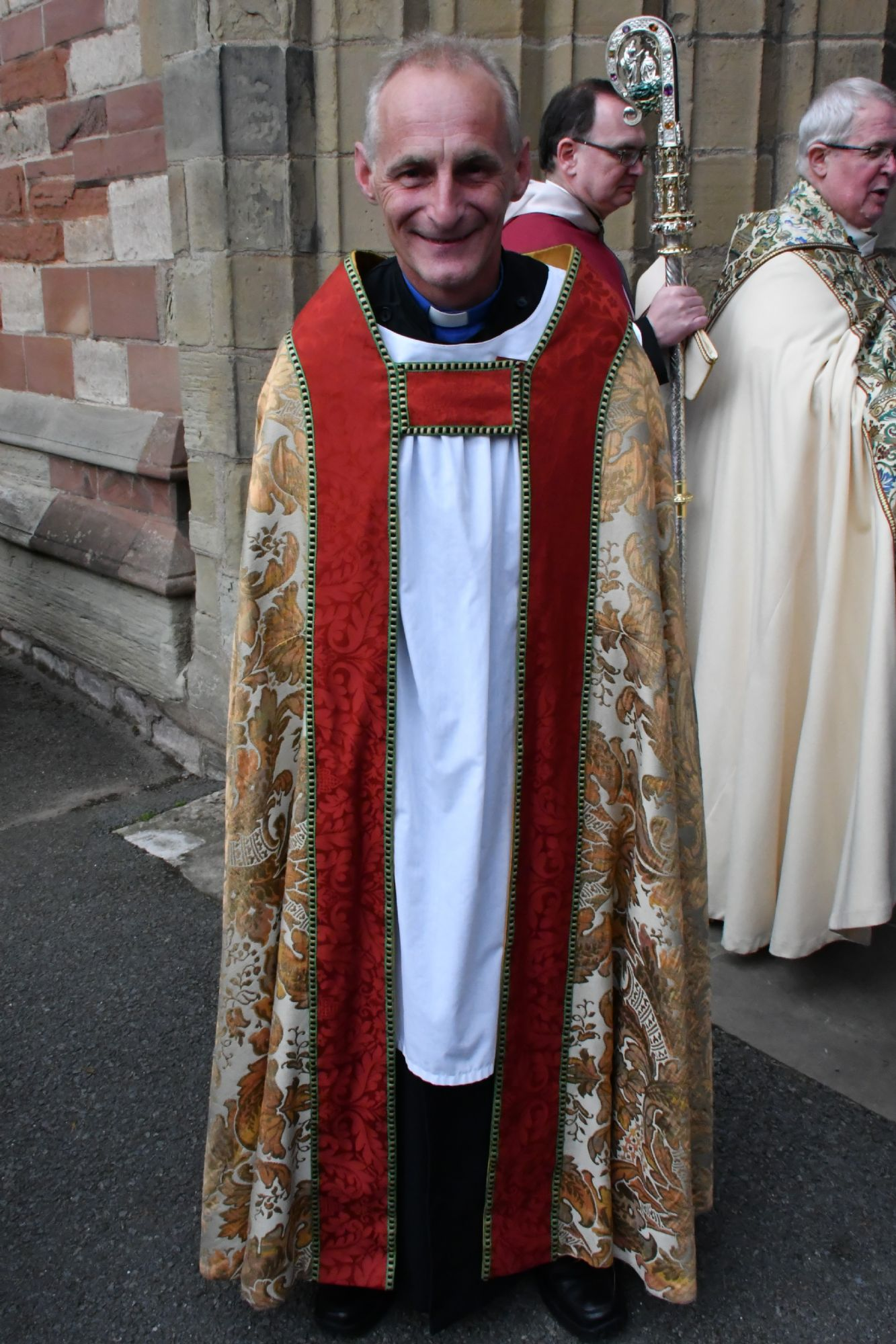 Andy is installed as Archdeacon of St Asaph