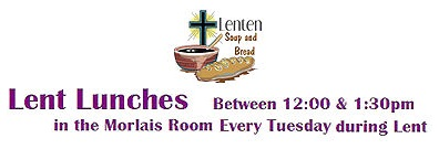 Lent Lunches - on Tuesdays in Lent