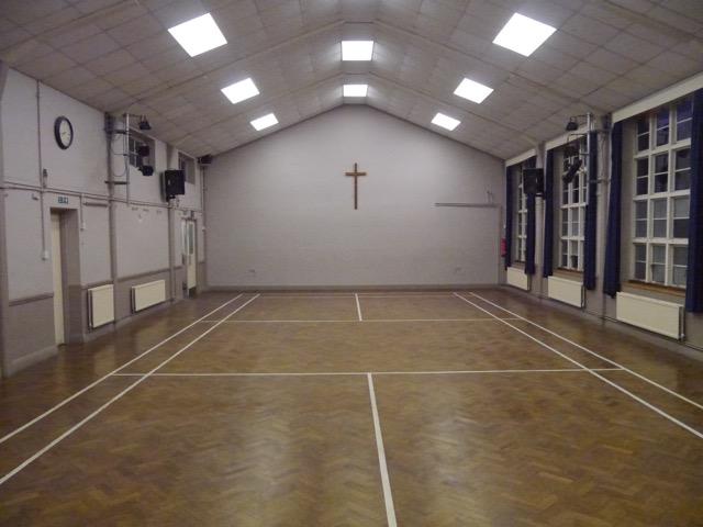 Church Hall - main room