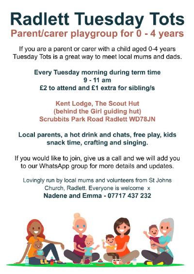 Mums and Tots info update