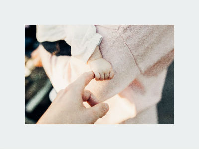 baptism hand