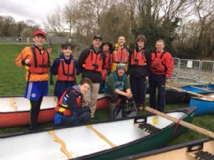 Canoe Trail group