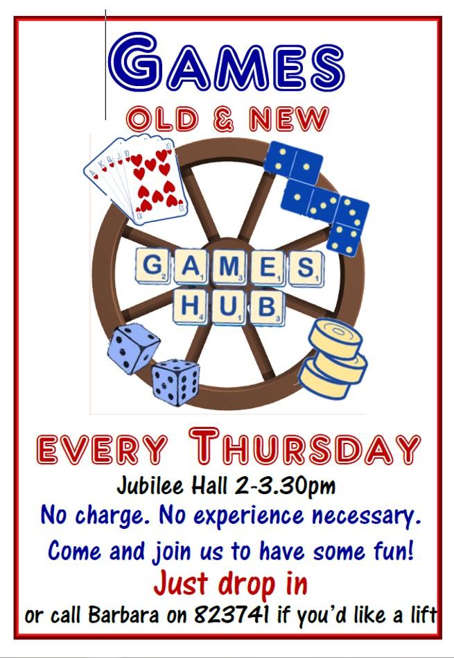Games Hub invite