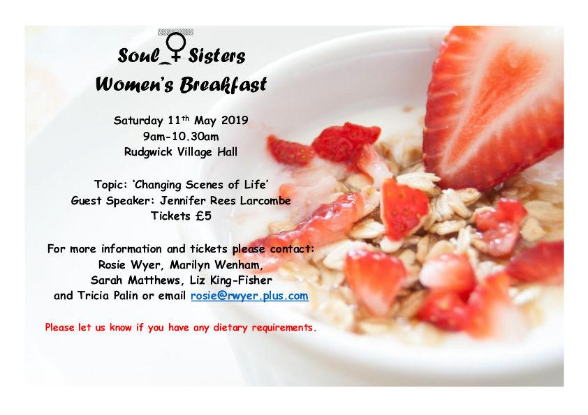 Soul Sisters Breakfast - Jennifer Rees Larcombe