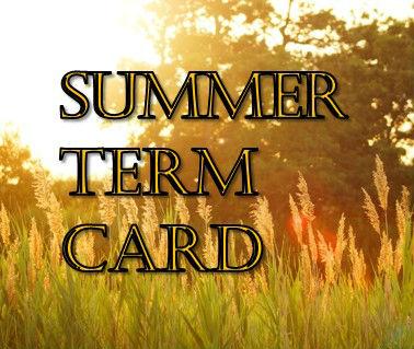 Summer Term Card