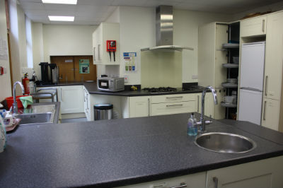 kitchen for hire Harrow Baptist
