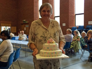 farewell cake celebration