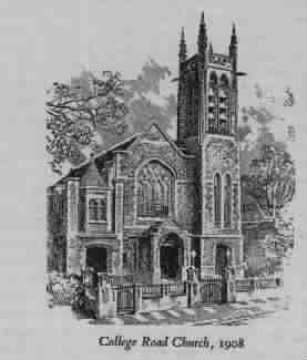 college road church 1908