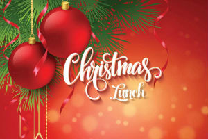 Christmas lunch advert