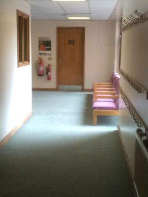 foyer upstairs Harrow Baptist church
