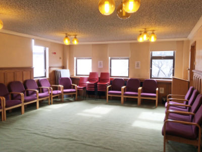 room 4 lounge for hire Harrow Baptist church