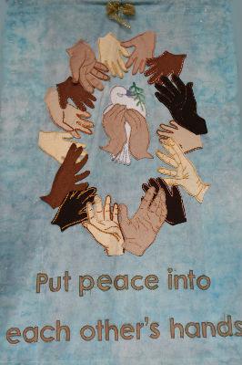 peace banner big