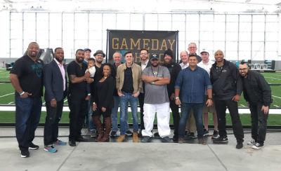 Game Day Church members