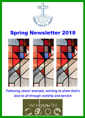 harrow baptist Church Spring 2018 magazine