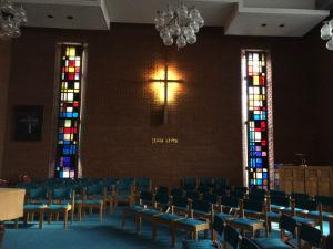 Harrow Baptist Church side view