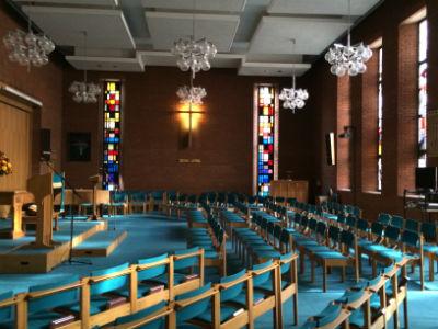 church sideways