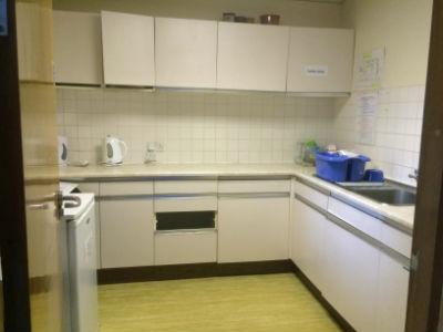 upstairs kitchen for hire Harrow Baptist church