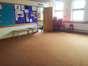 room1  upstairs for hire Harrow baptist Church