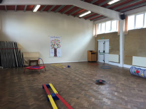 Playgroup obstacle course 2018