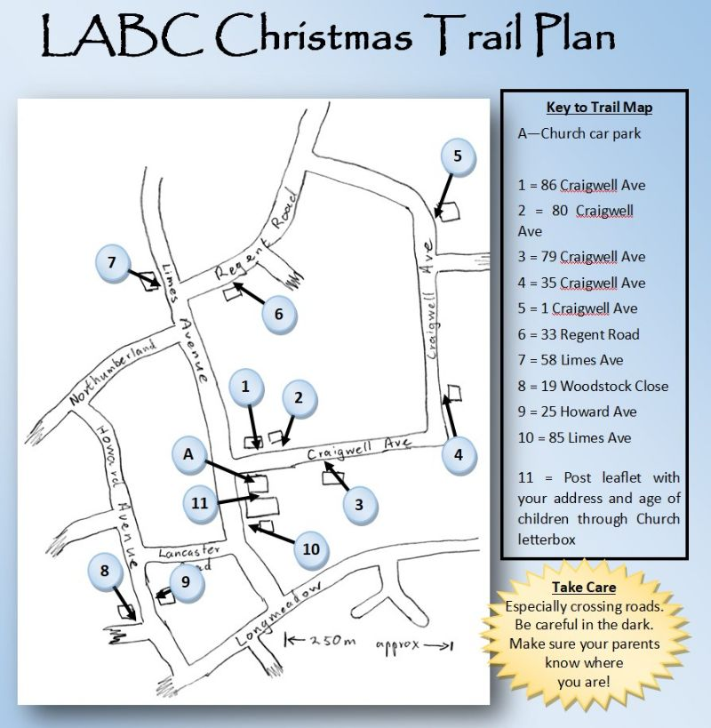 LABC Trail Map