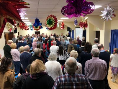 Carol Service at the Bunwell Village Hall