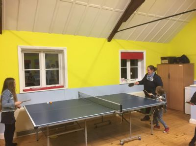Table tennis at The Loft