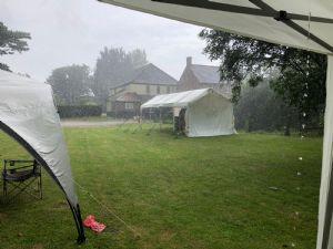 monsoon like rain
