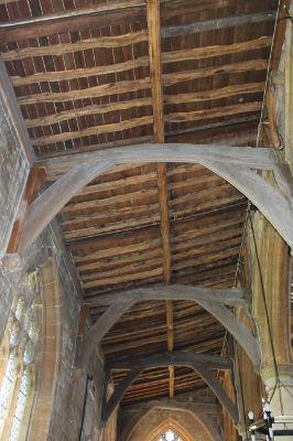 North Arcade Roof: Photo C Kebbell