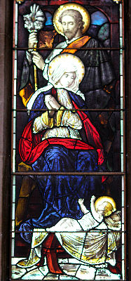 Nativity Window Panel