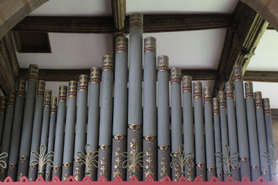 Organ Pipes at St Marys: Photo C Kebbell