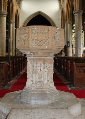 St Marys Font