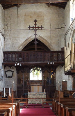 Chancel Arch with Rood Screen