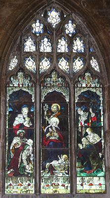 Nativity Window: Photo C Kebbell