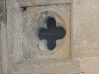 Quatrefoil Window
