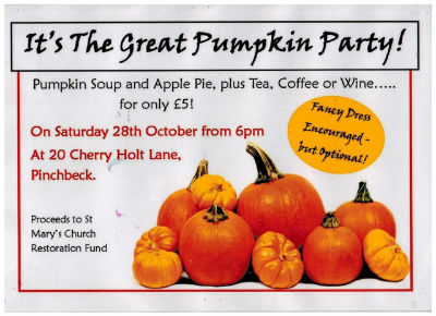 Pumpkin Party Flyer