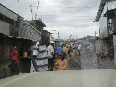 kibera street