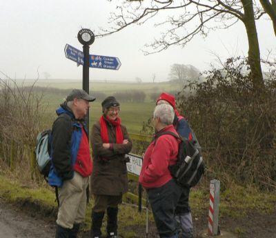 St James Walking Group - Glasson Feb 2010