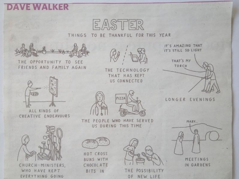walker - Easter