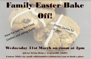 Easter Bake Off Poster