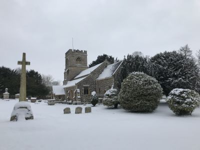 St Georges in the snow