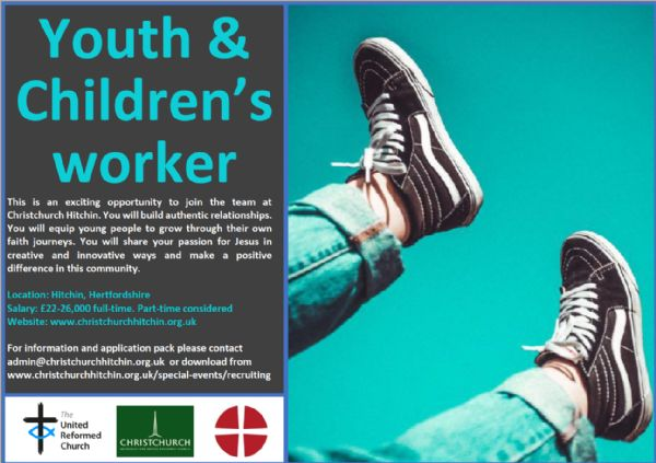 Hitchin Youth Worker +