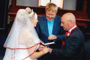wedding sue chris