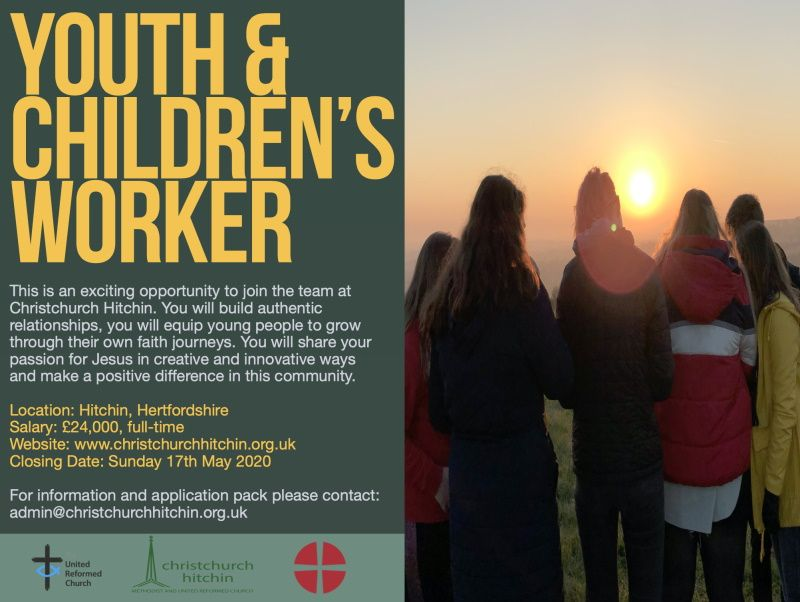 Youth Worker Advert +
