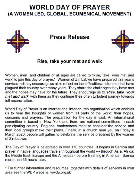 World Day of Prayer +