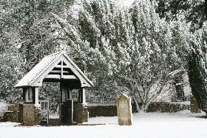Snow and Churchyard
